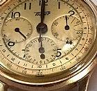 Relogio tissot modelo cronografo em ouro