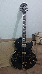 Guitarra semi acustica jc16 - raridade - muito nova