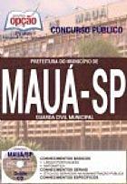 Concurso prefeitura do municipio de maua / sp  guarda civil municipal