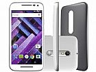 Smartphone motorola moto g 3ª geracao turbo 16gb - dual chip 4g cam. 13mp   selfie 5mp tela 5