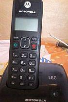 Telefone sem fio com identificador de chamadas motorola