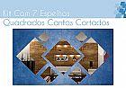Espelho decorativo em acrilico personalizavel � espelho quadrados cantos cortados