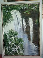 Tela cachoeira do acaba vida. tamanho 0, 70 x 1, 00