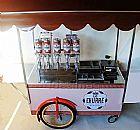 Food bike e carrinho p/ churros gourmet em salvador e todo brasil