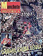 O brasil chora por senna,   cobertura completa,   revista manchete historica de 1994 com o poster