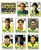 Brasil,  14 figurinhas dos atletas que disputaram o  campeonato mundial 1994
