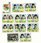 Bolivia,  8 figurinhas duplas,  1 escudo,  1 atletas,  campeonato mundial de futebol de 1994