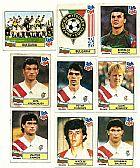 Bulgaria,  14 figurinhas,  1 escudo,  1 atletas,  campeonato mundial de futebol de 1994