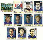 Estados unidos (usa),  14 figurinhas,  1 escudo,  1 atletas,  campeonato mundial de futebol de 1994
