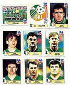 Irlanda (ireland),  17 figurinhas,  1 escudo,  1 atletas,  campeonato mundial de futebol de 1994