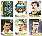 Rossija (russia),  16 figurinhas,  1 escudo,  1 atletas,  campeonato mundial de futebol de 1994