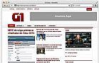 Layout portal de noticias g1
