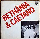 Bethanea e caetano,   compacto com  6 cancoes,   polygram de 1979