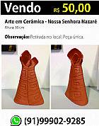 Arte em ceramica - nossa senhora nazare