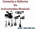 Reforma e conserto de instrumentos musicais