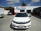 Honda  civic lxs automático 2014 branco