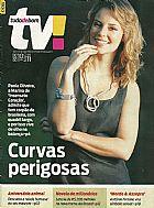 Paola oliveira,    interpretou marina em insensato coracao,    revista tudo de bom tv nº 301