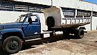 Chevrolet 12000 toco ano 1990 cacamba azul