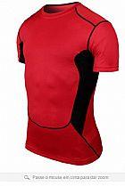 Camiseta masculina de compressao sport slim fit