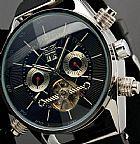Relógio analógico masculino de alta classe jaragar