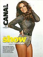 Ivete sangalo,    mostra que esta com tudo em cima para o carnaval,    revista canal extra nº 828