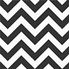 Papel de parede adesivo listrado preto e branco