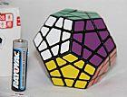 Cubo magico megamix 12 lados / dodecagono etiquetas rapido