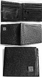 2 carteiras para cedulas,  cartoes e porta moedas,  cores caramelo e preta