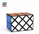 Cubo magico black diansheng 3x3x3 double fish cube black