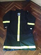 Capa de bombeiro profissional