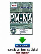 Apostila - soldado bombeiro militar - policia militar / ma são paulo 714328