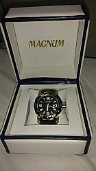 Relogio magnum - acompanha certificado de garantia