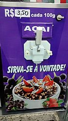 Maquina de sorvete e acai expresso