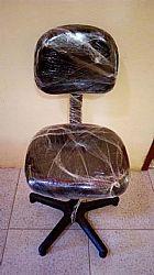 Cadeira giratoria preta 140 cada