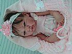 Bebe reborn boneca linda parece de verdade
