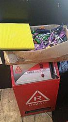 Maquina de chinelos rimaq com material ac cartao ou trokas