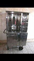 Maquina de churrasco grego em fortaleza