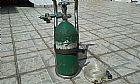 Cilindro de oxigenio medicinal com suporte fixo (vazio)