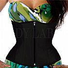 Corselet underbust corset corpete espartilho lady large