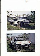 Bugre 1977 branco motor vw 1500