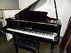 Piano usado fritz dobbert 1/4 cauda zerado