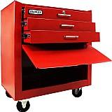 Carro para ferramentas com 3 gavetas e 1 compartimento 96-225l stanley