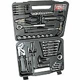 Kit de ferramentas 141 pecas com martelo mf141 - intech machine