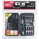 Kit de acessorios 67 pecas - skil