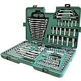Kit de ferramentas manuais profissional 150 pecas st09510sj sata