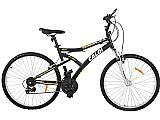 Bicicleta caloi andes mountain bike aro 26 - 21 marchas suspensao frontal freio v-brake