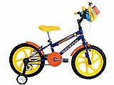 Bicicleta infantil houston nic aro 16 - freio side pull