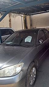 Honda civic 2005 cinza,  completo,  gnv,  4 portas,  manual. ipva2016 pago