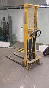 Empilhadeira manual usada da paletrans para 1000kg