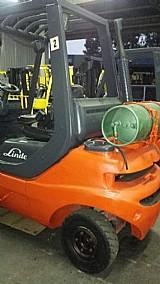 Empilhadeira usada,  linde, capacidade 2500 kg 3 torres